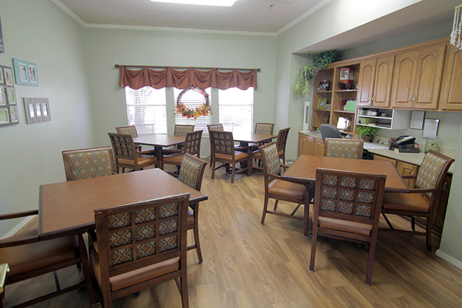 Brookdale Weatherford Activity Room