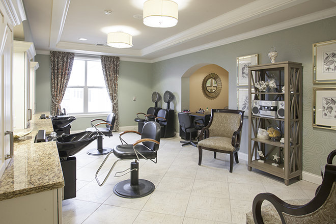 Brookdale West County Salon