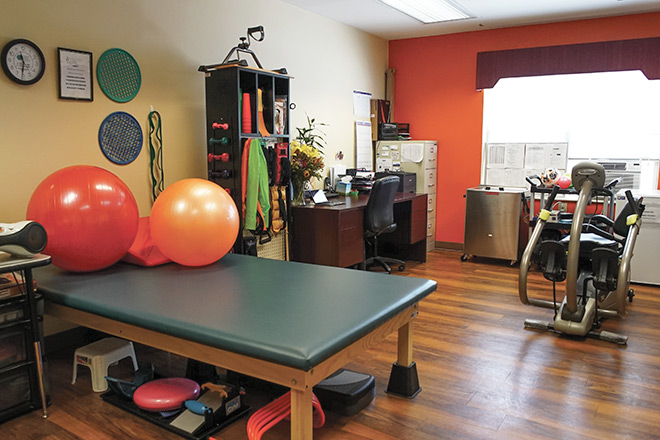 Brookdale West Orange Therapy Room