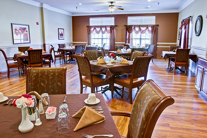 Brookdale Westerville Dining Room