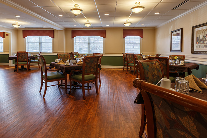 Brookdale Westlake Village Skilled Nursing Dining Room