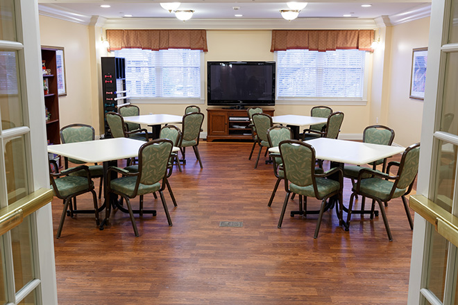 Brookdale Westlake Village Skilled Nursing Activity Room