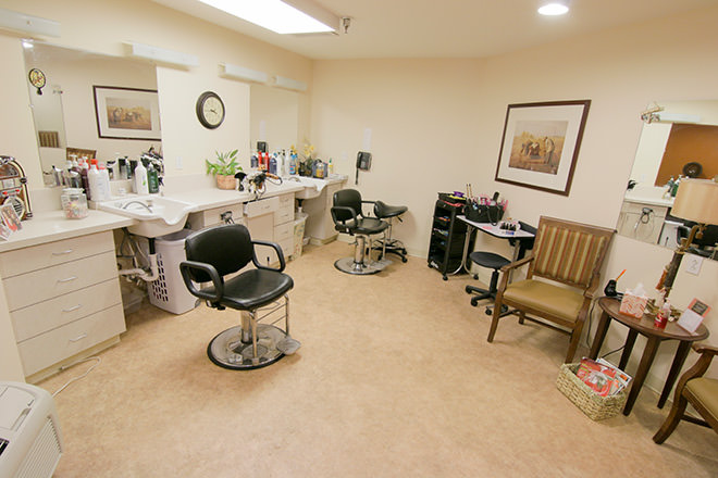 Brookdale White Chapel Salon