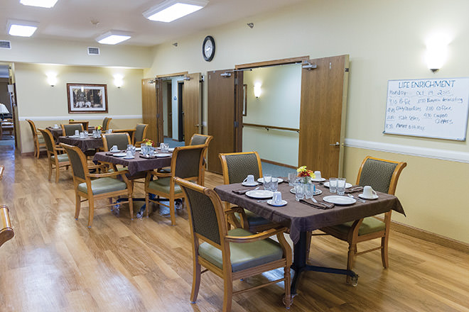 Brookdale Willmar Dining Room