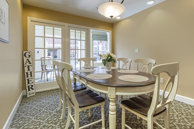Brookdale Wilmington Private Dining Room