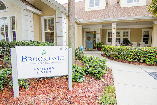 Brookdale Winter Haven  Entrance