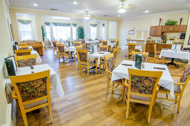 Brookdale Winter Haven  Dining Room