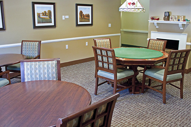 Brookdale Woodbridge Game Room