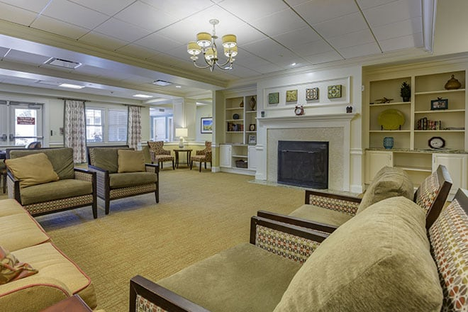 Brookdale Wooster Foyer
