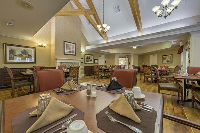 Brookdale Wooster Dining Room