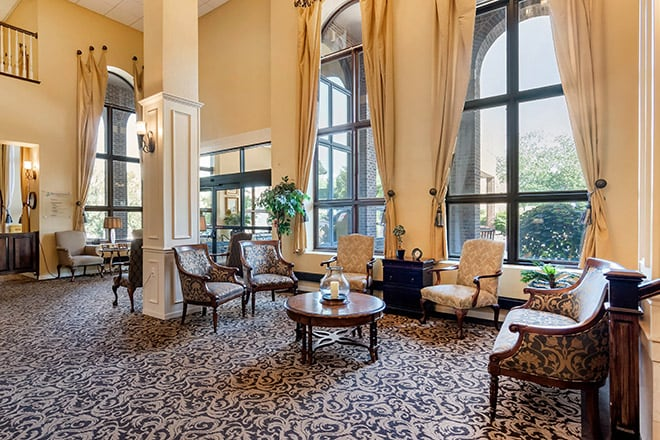 Brookdale Wornall Place Foyer