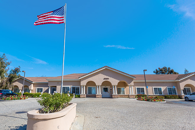 Brookdale Yorba Linda Skilled Nursing Entrance