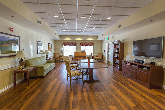 Brookdale Yorba Linda Skilled Nursing Activity Room
