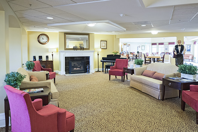 Brookdale Yreka Community Living Room