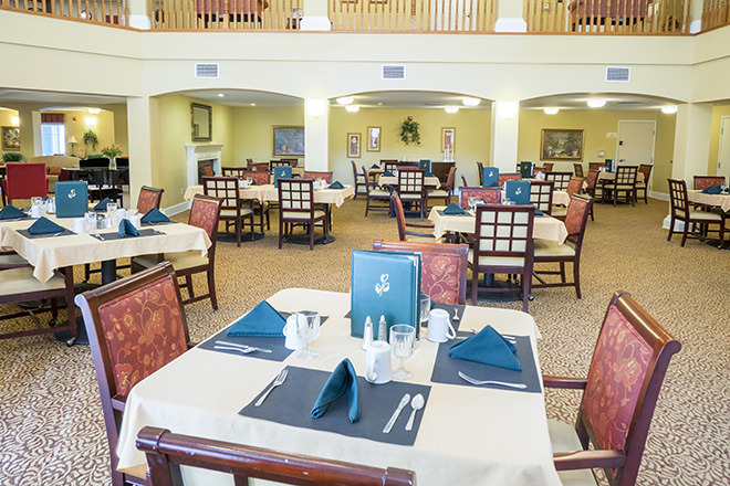 Brookdale Yreka Dining Room