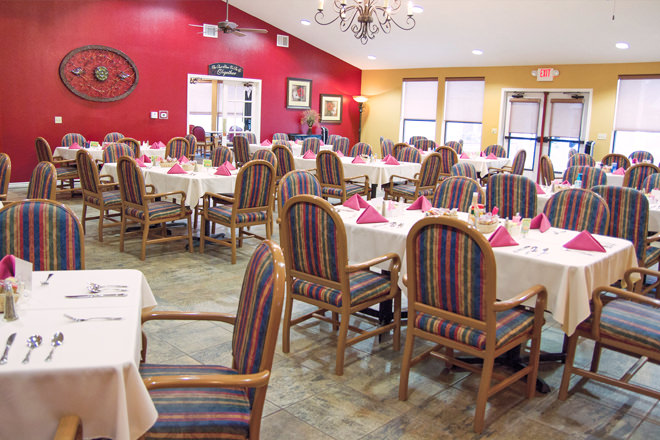 Brookdale Copperfield Village Dining Room