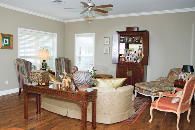 Brookdale Copperfield Village Living Room