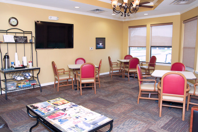 Brookdale Copperfield Village Game Room