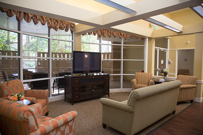 Cypress Village Skilled Nursing Living Room