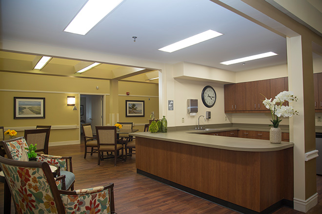 Cypress Village Skilled Nursing Foyer