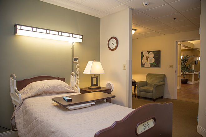 Cypress Village Skilled Nursing Bedroom