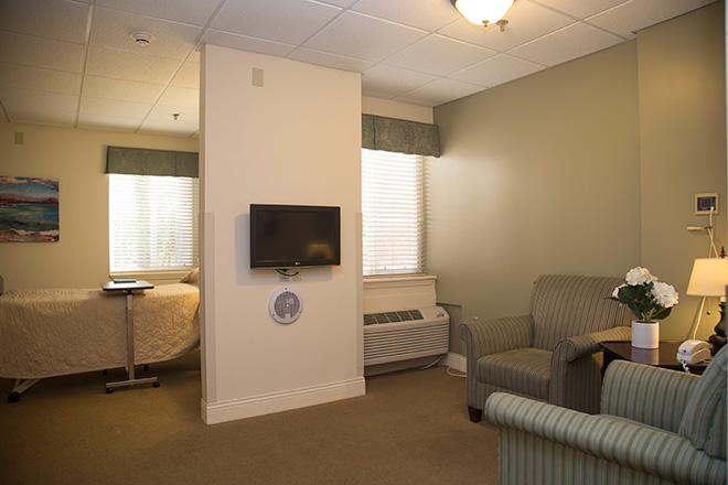 Cypress Village Skilled Nursing Living Area