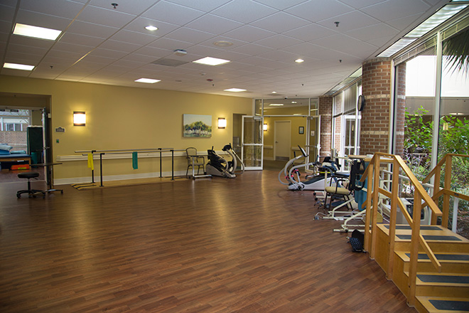 Cypress Village Skilled Nursing Therapy Room