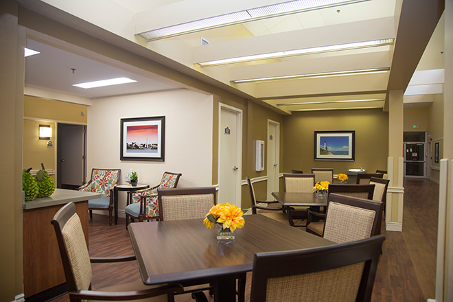 Cypress Village Skilled Nursing Common Area