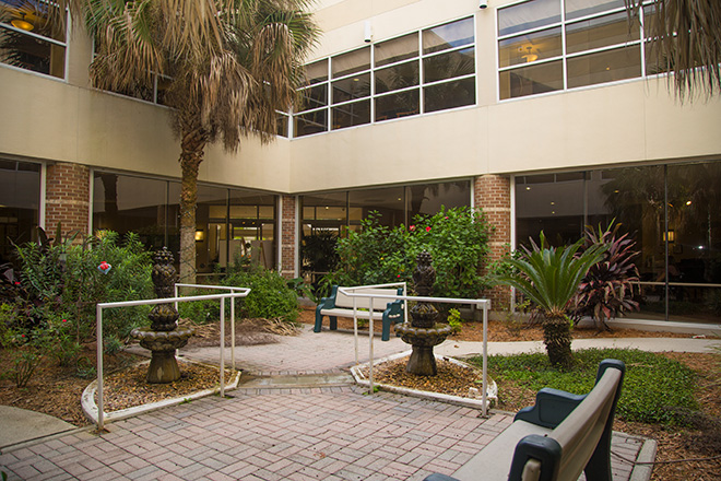 Cypress Village Skilled Nursing Patio