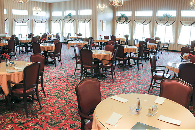 Brookdale Brockport Dining Room
