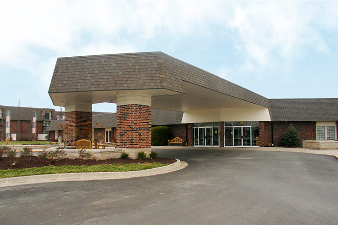 Foxwood Springs Living Center Community Entrance
