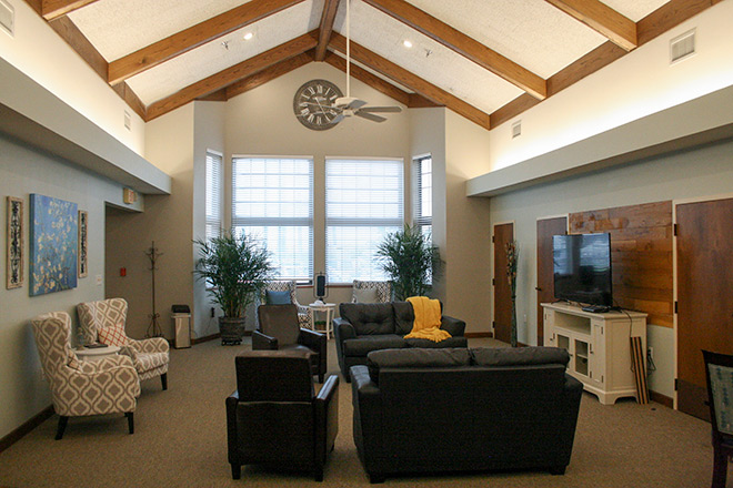 Foxwood Springs Living Center Common Area