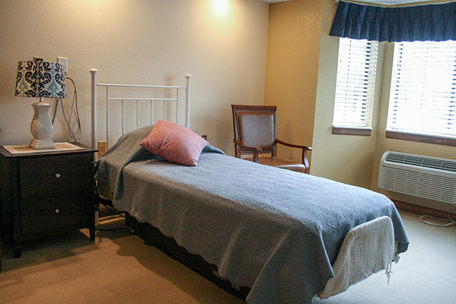 Foxwood Springs Living Center Bedroom