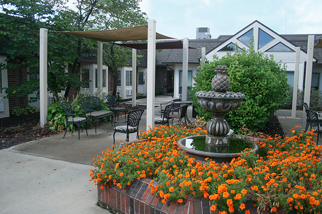 Foxwood Springs Living Center Patio