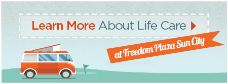 Learn More About Brookdale Life Care at Freedom Plaza at Sun City Center