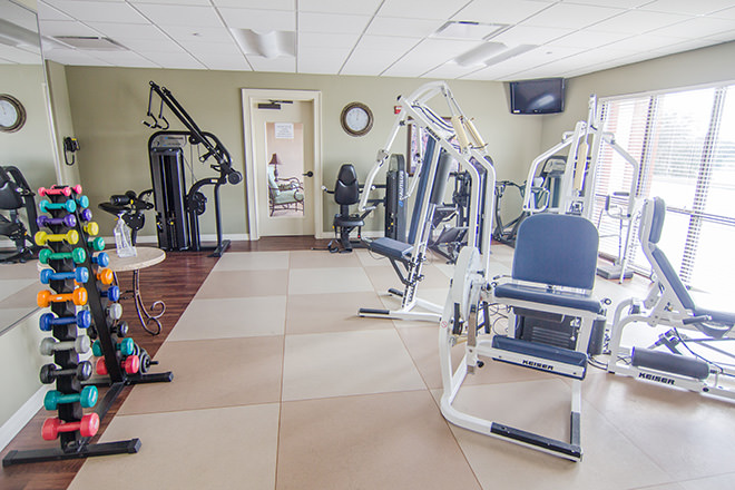 Freedom Pointe at The Villages Fitness Room