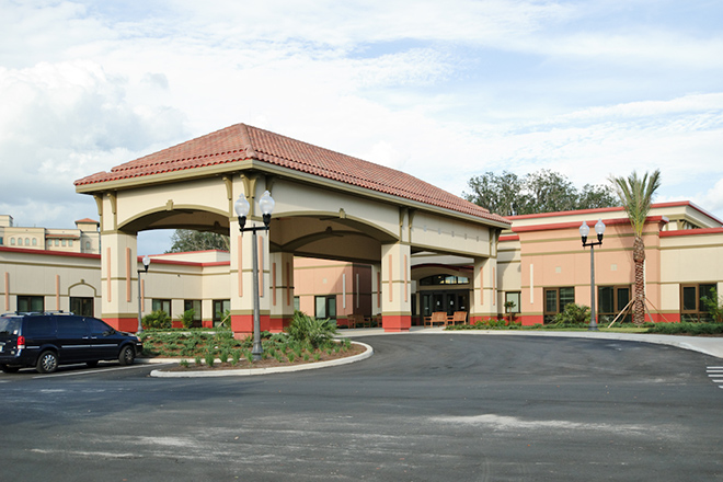 Freedom Pointe at The Villages Rehabilitation & Healthcare Center Entrance