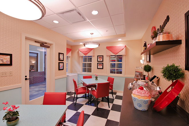Freedom Pointe at The Villages Rehabilitation & Healthcare Center Ice Cream Parlor