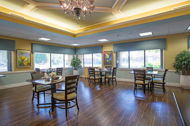 Freedom Square Healthcare Center Dining Room