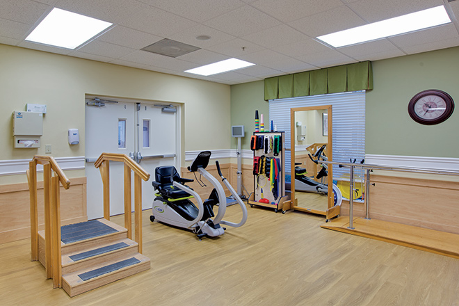Freedom Square Rehabilitation and Nursing Services Therapy Room