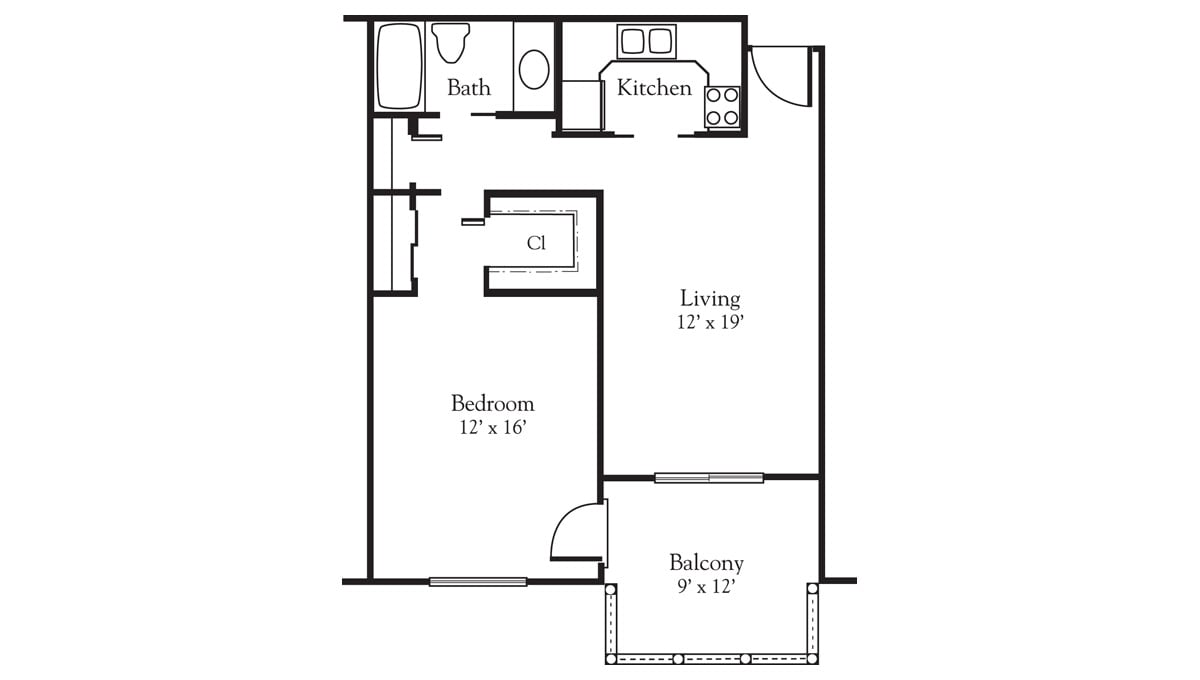 Freedom Village at Bradenton Apartment A - One Bedroom