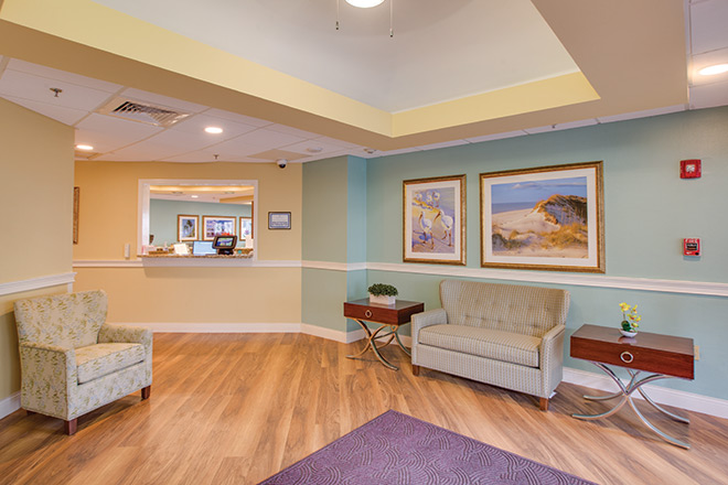The Nursing Center at Freedom Village Foyer