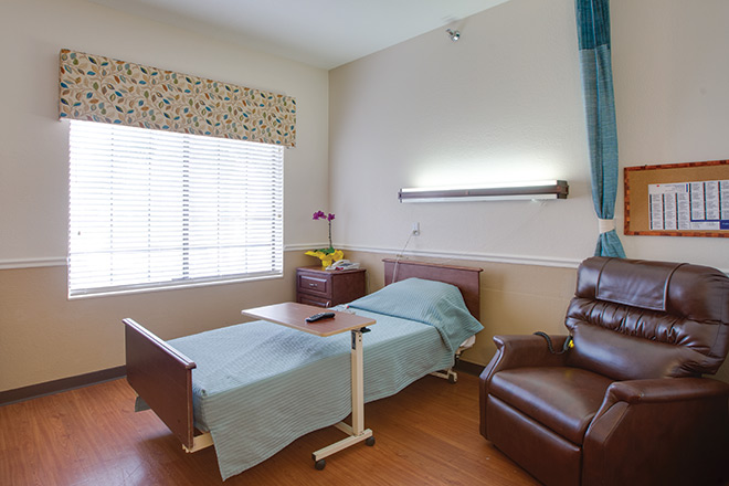 The Nursing Center at Freedom Village Bedroom