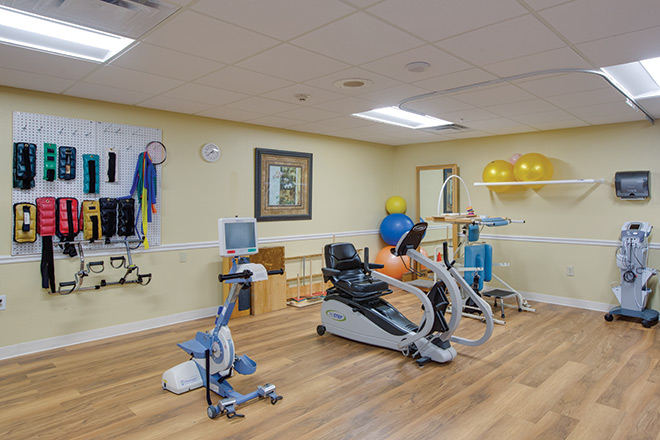 The Nursing Center at Freedom Village Therapy Room