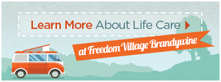 Learn More About Brookdale Life Care Freedom Village at Brandywine