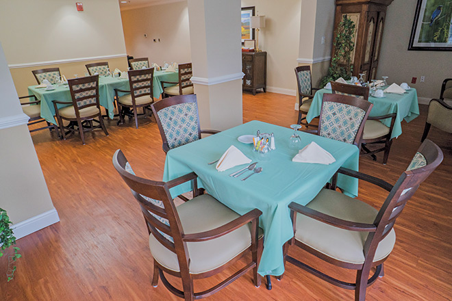 The Inn at Freedom Village Dining Room