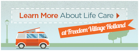 Learn More About Brookdale Life Care at Freedom Village at Holland