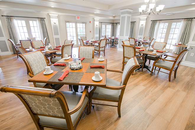 Brookdale Altamonte Springs Dining Room
