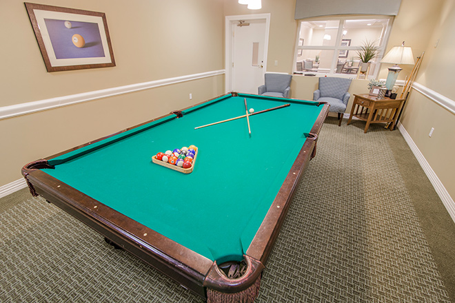 Brookdale Lake Orienta Billiards