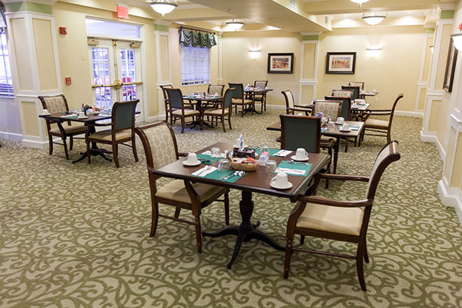 Brookdale Vero Beach Dining Room